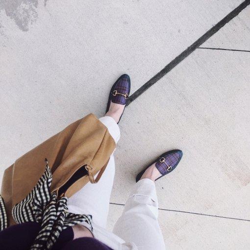 美鞋打卡第3天   秋日乐福鞋,配色很喜爱