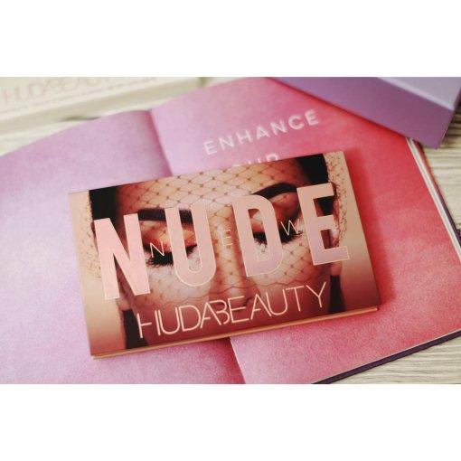 Huda Beauty压盘粉质都巨美的new nude眼影盘