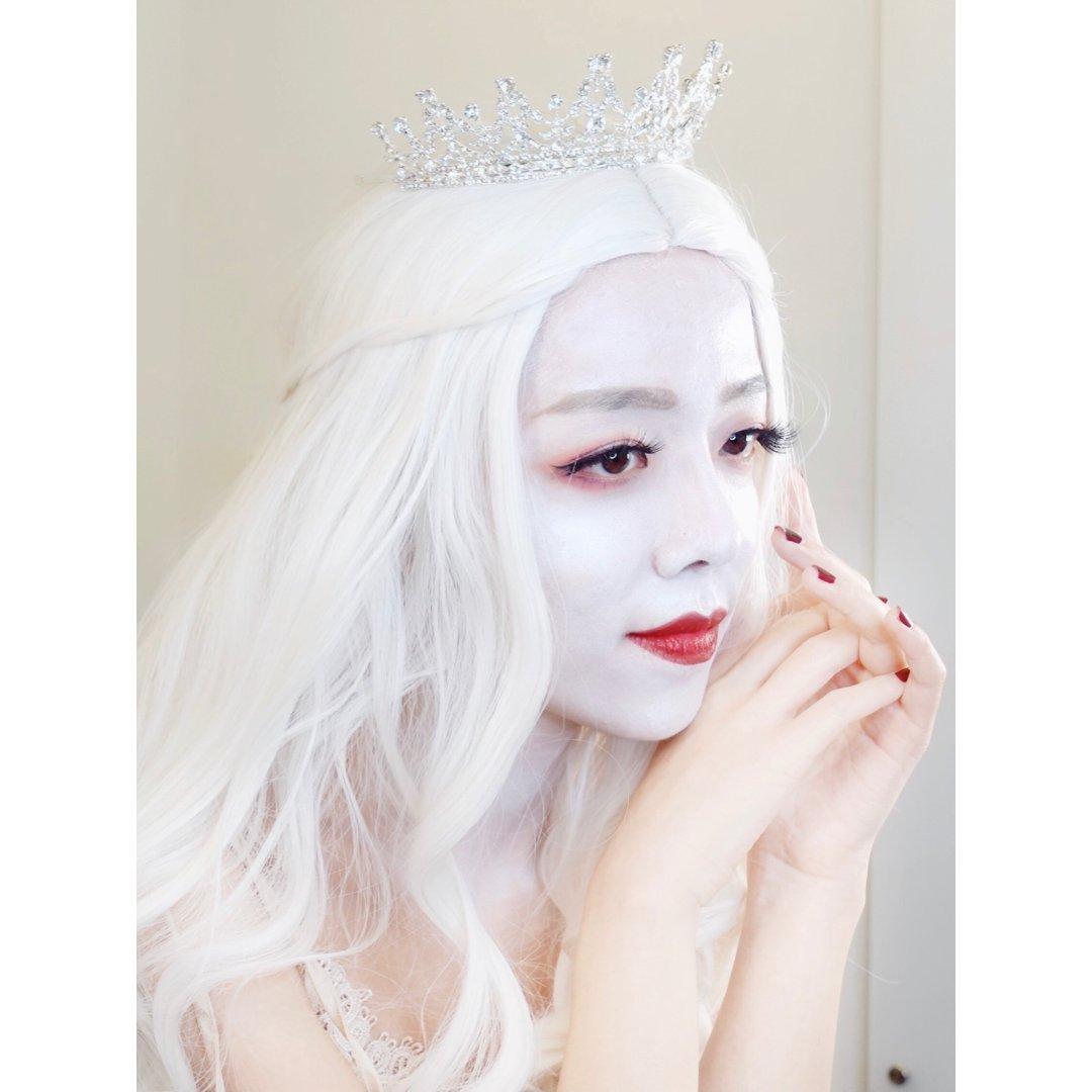 万圣节妆容🎃白皇后 |Behind th...