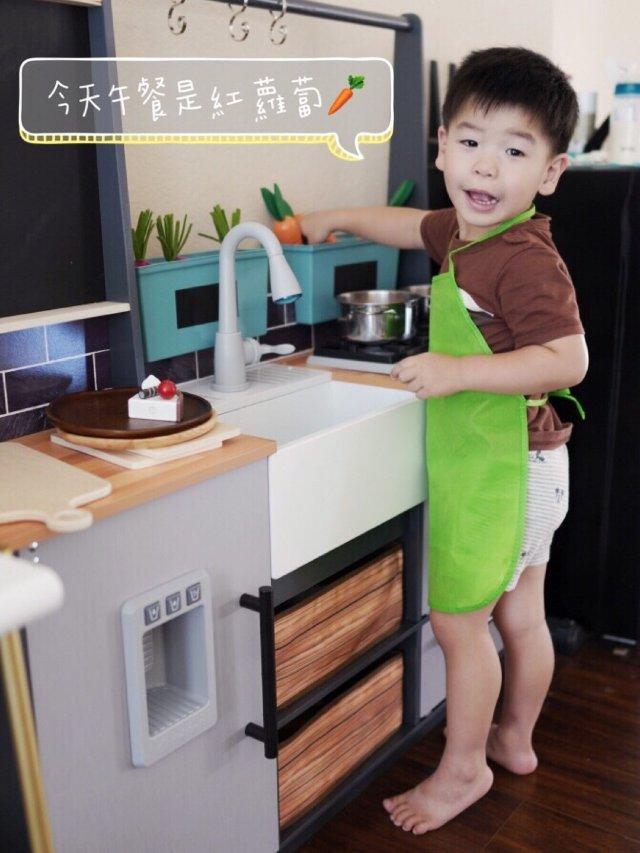 大兒子的3歲生日禮物🎁 廚房辦家家