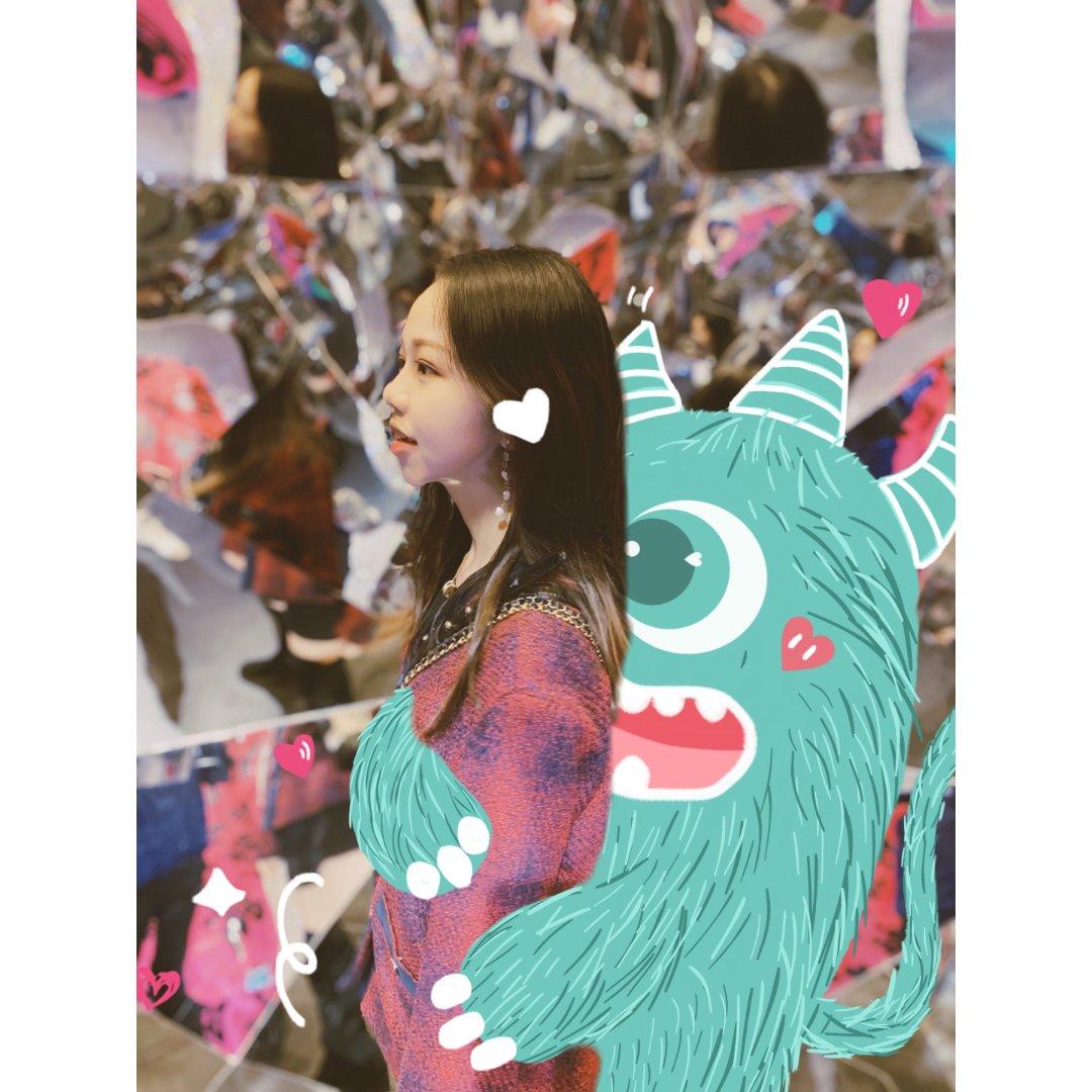 涂鸦|画个小怪兽保护我 情人节快乐🌹✨