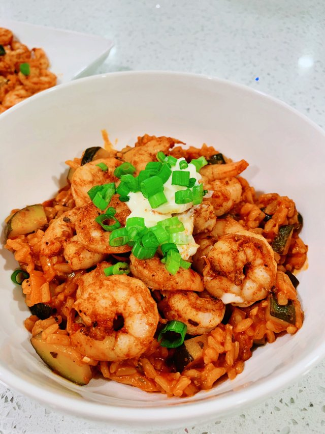 Spanish shrimp & ...