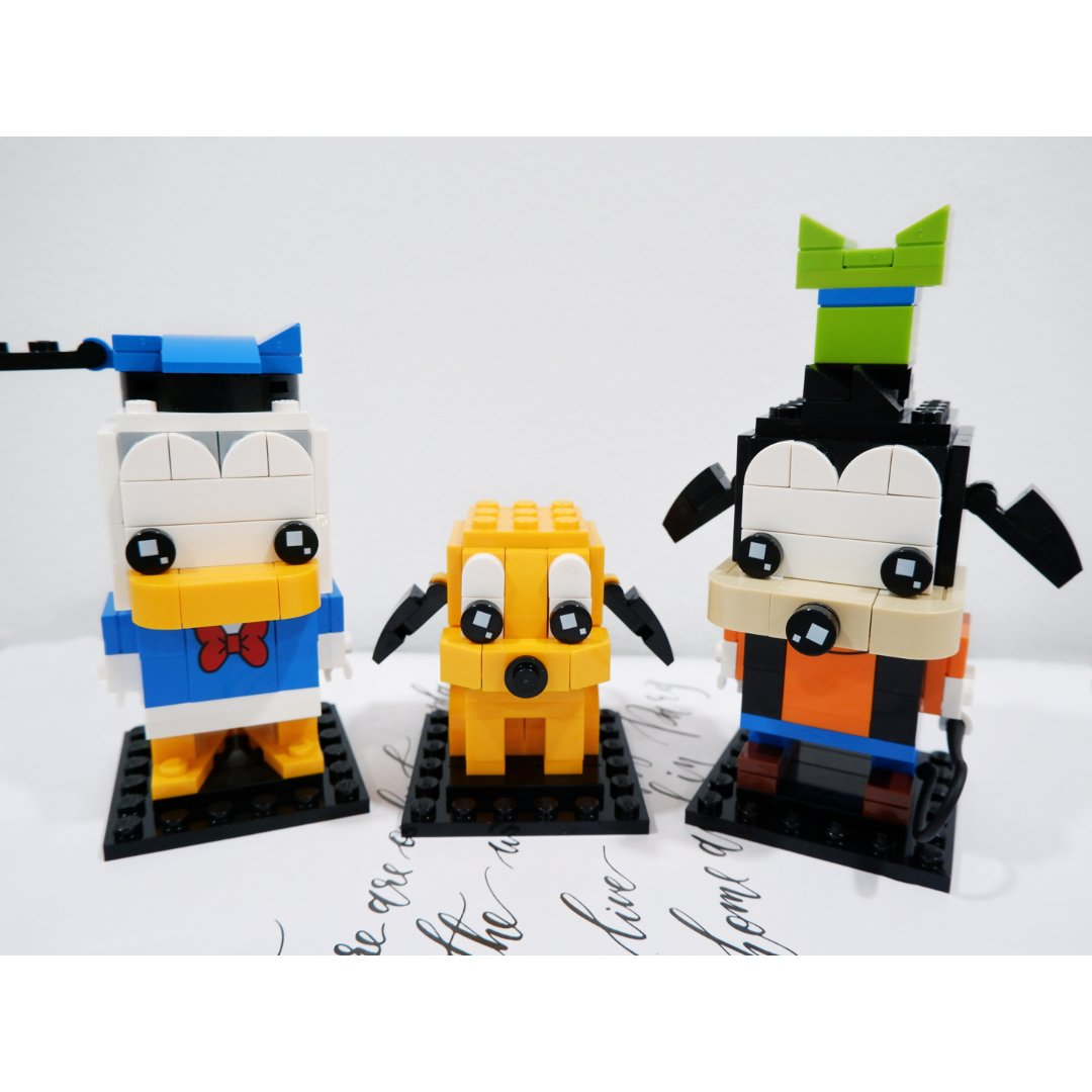 LEGO 宅家必备|唐老鸭、高飞、...