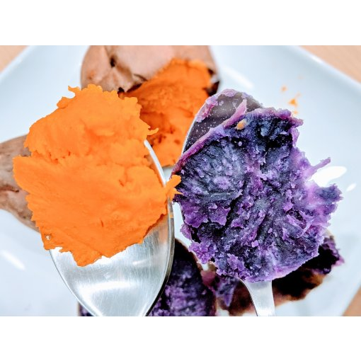 #Instant Pot蒸紫薯vs空气炸锅烤红薯选哪个!
