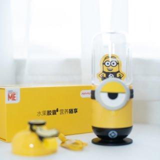 微众测/可以和宝宝一起玩的的果汁机/小黄人