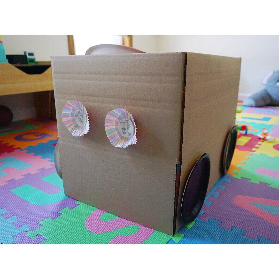 纸箱📦月饼盒DIY,手残党老母亲尽力了