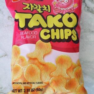 tako chip,农心小吃,零食不能停