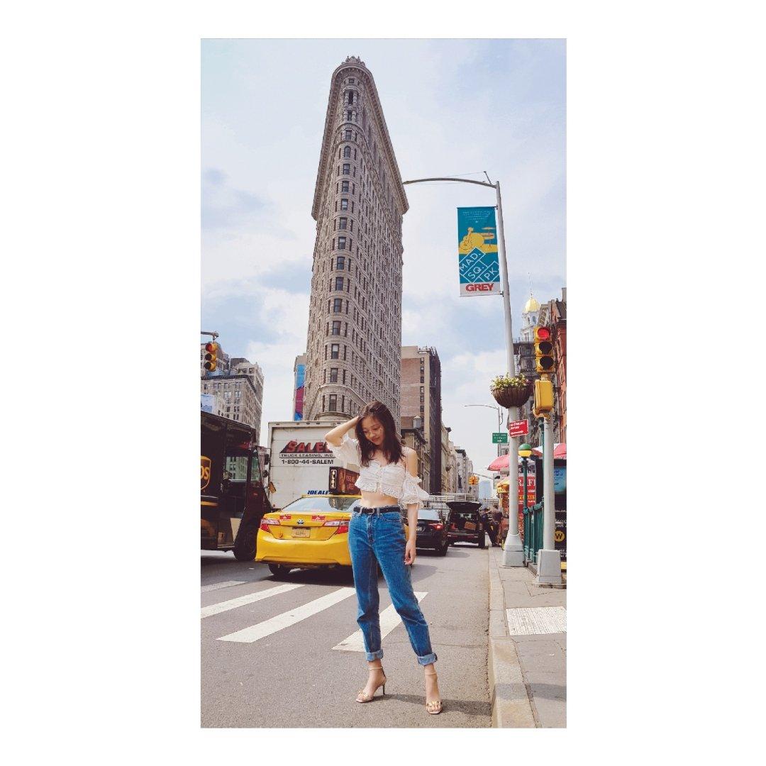 打卡纽约的熨斗大厦