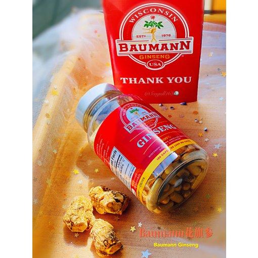 Baumann花旗参胶囊💊恢复体力的得力助手👍