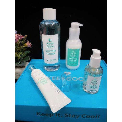可降低皮肤温度,带来舒适清凉感受的Keep Cool护肤品!