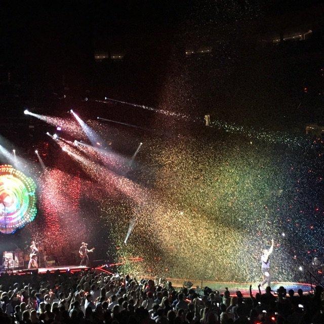 这个夏天充满Coldplay在北美...
