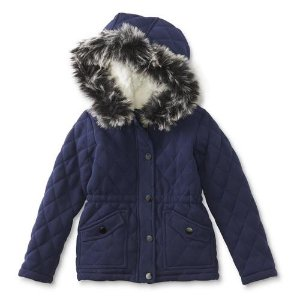 $7Me Jane Girls' Quilted Jacket @ Sears