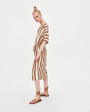 STRIPED TUNIC DRESS-View all-DRESSES-TRF | ZARA United States