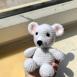 我的小熊🐻变成小老鼠🐭了……...