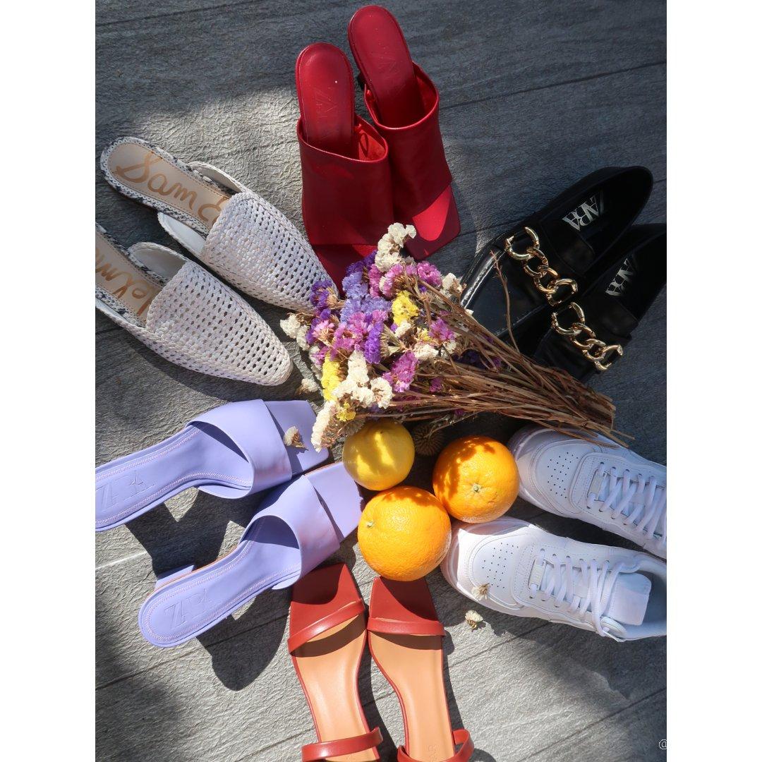 藏在家的春夏鞋子们