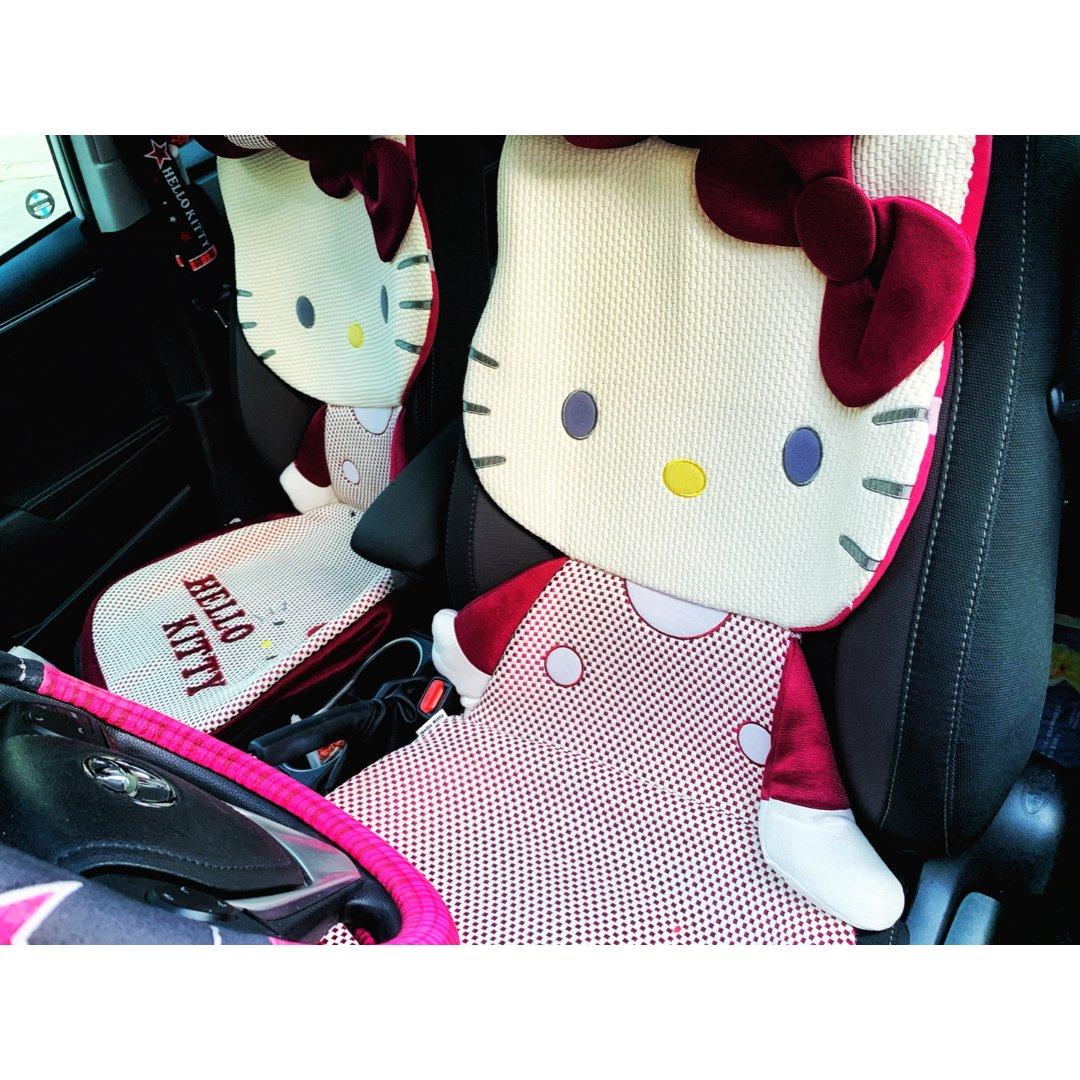 晒晒我的Hello Kitty爱车...
