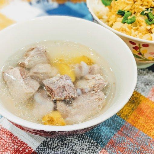 #冬日来碗暖心热汤| Instant Pot姜汁猪软骨汤上桌