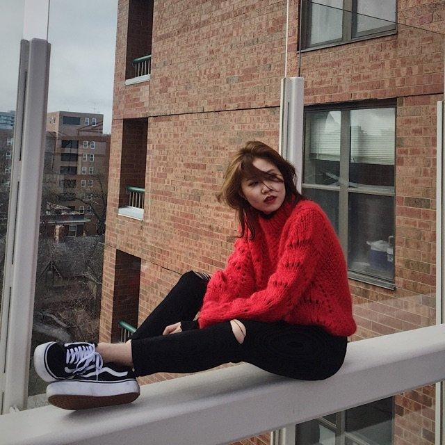 【种草】ganni今年春款的红毛衣...