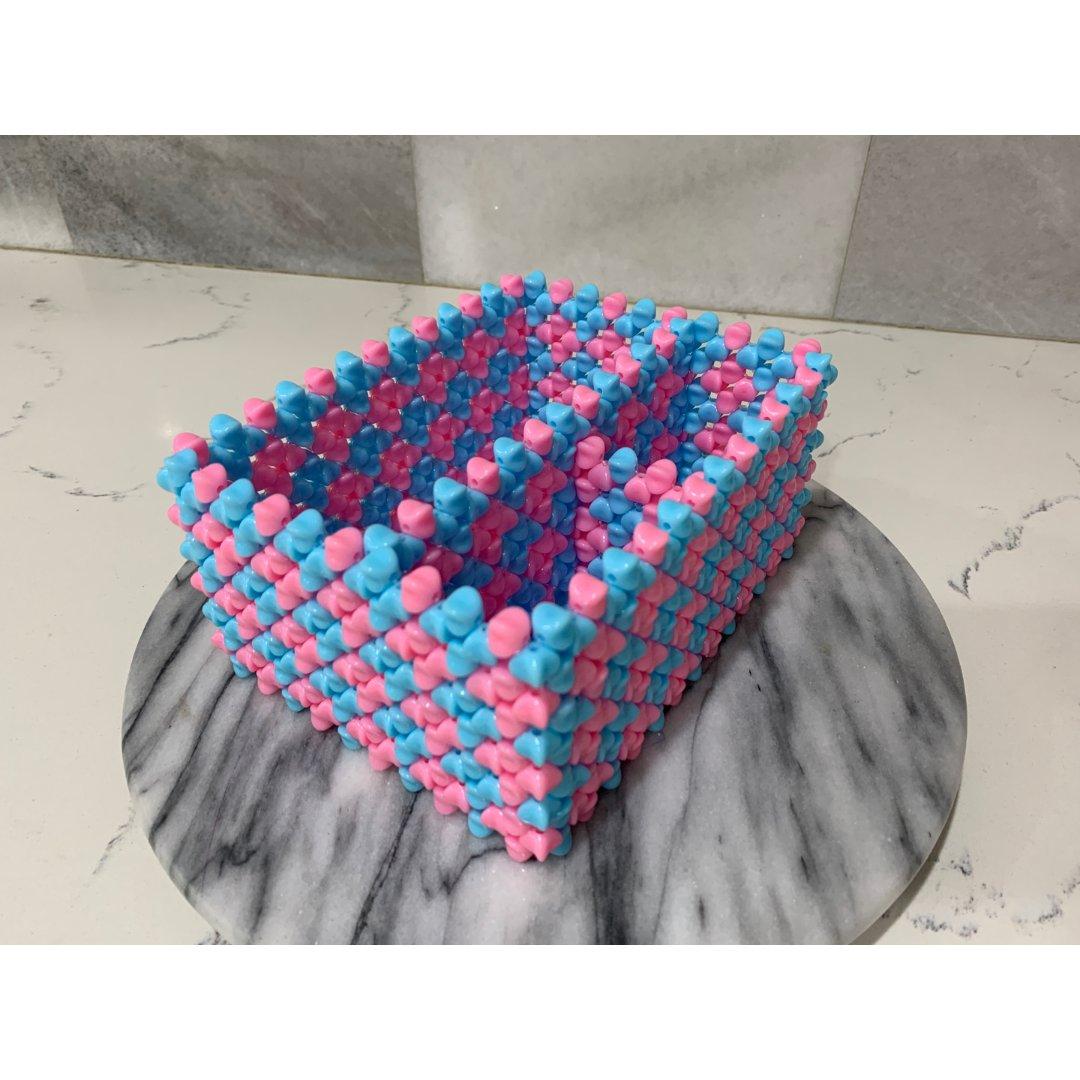 多功能手工串珠纸巾盒