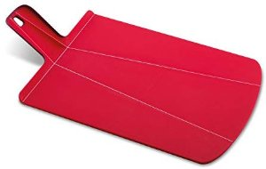 Amazon.com: Joseph Joseph 60042 Chop2Pot Foldable Plastic Cutting Board 19-inch x 10.75-inch Chopping Board Kitchen Prep Mat with Non-Slip Feet 4-inch Handle Dishwasher Safe Lays Flat Folds Up, Large, Red: Cutting Boards: Kitchen & Dining