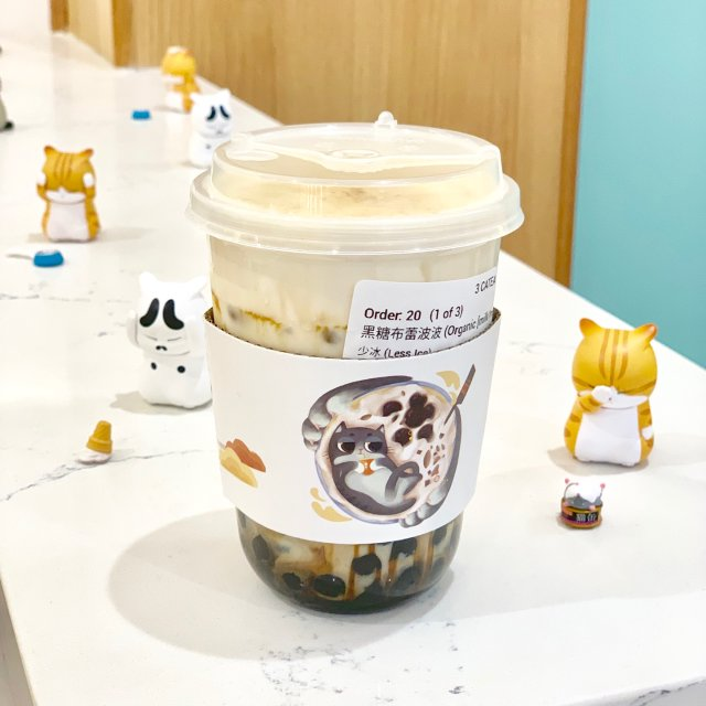 【奶茶大赏】三猫制茶的黑糖牛奶🥛