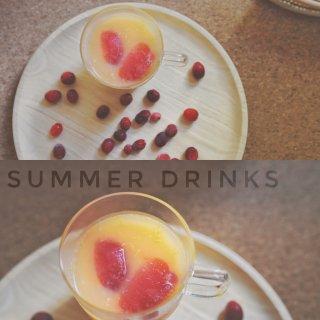 夏日蔓越莓特饮🥤...
