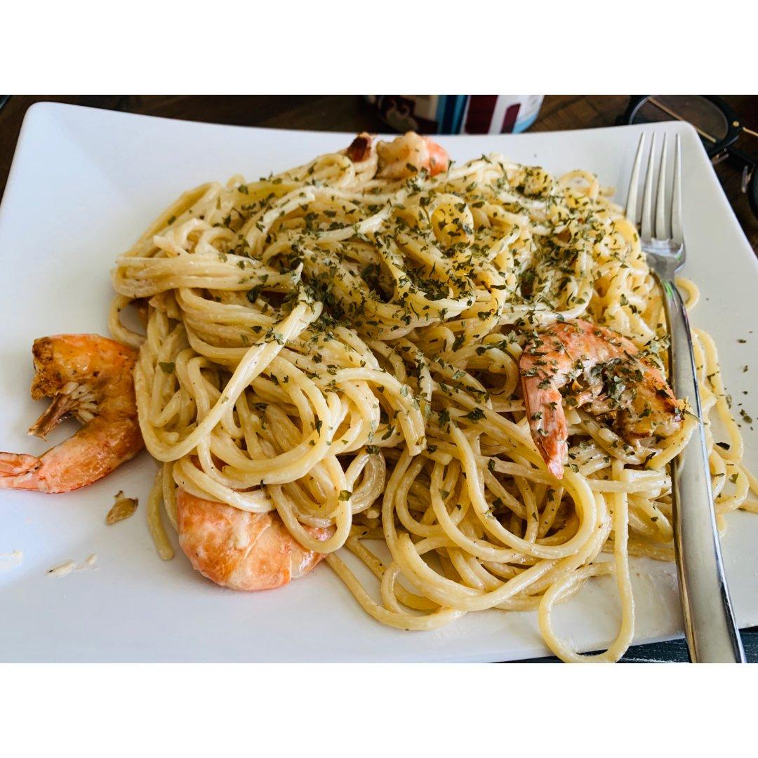 自制白酱pasta