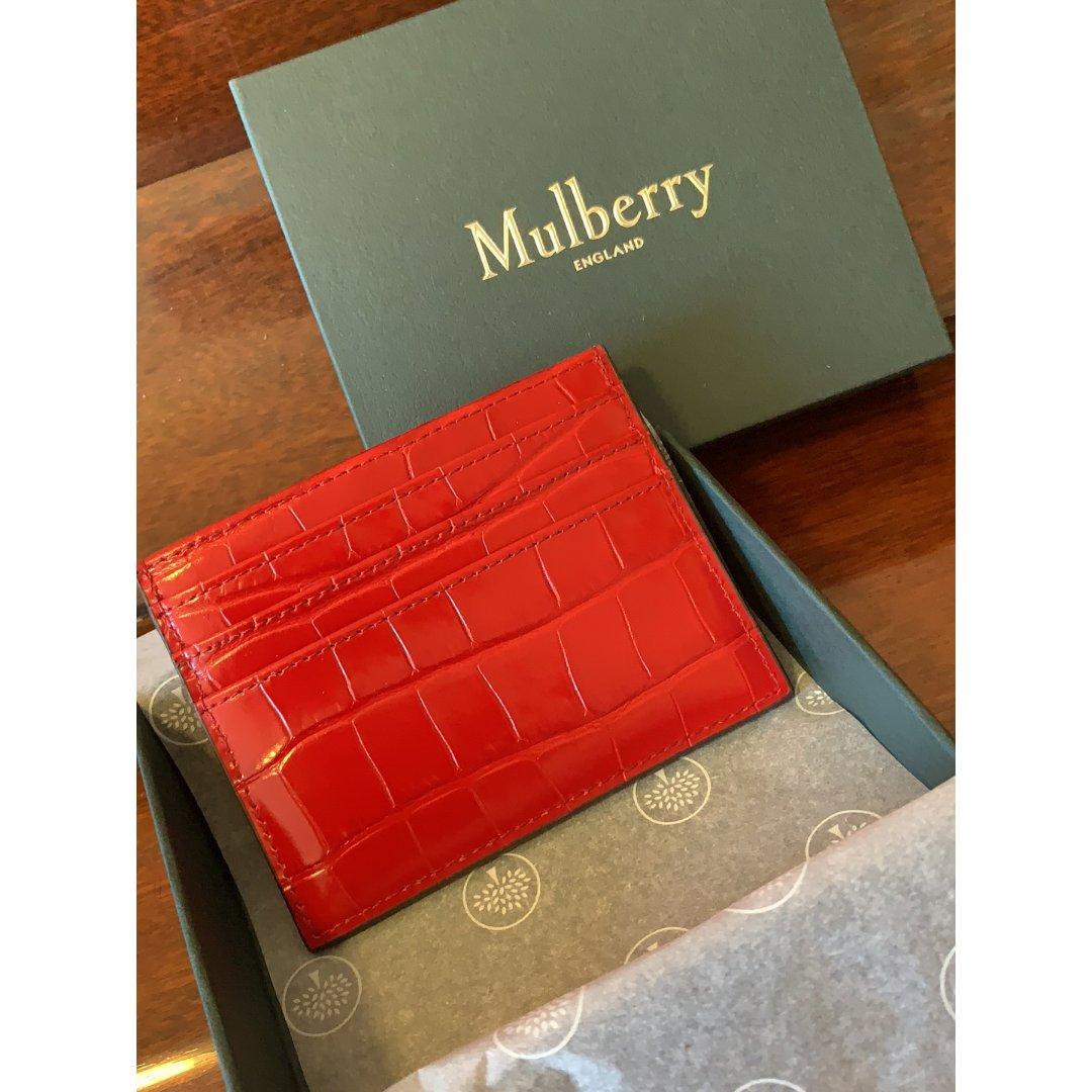 中奖 Mulberry 卡包...