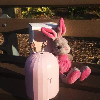 微众测|小萌兔加湿器为可爱加分