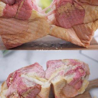 適合情人節的🌸粉粉噠櫻花三色奶酥吐司🍞 ...