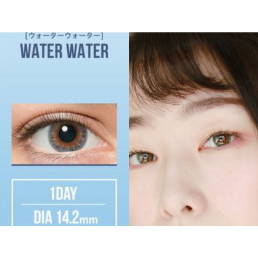 美瞳界最美蓝色 | LIL MOON water water