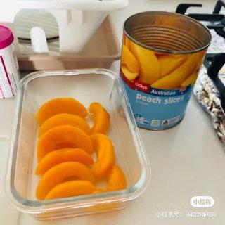 墨尔本 | 五分钟就能做好的黄桃果冻💖...