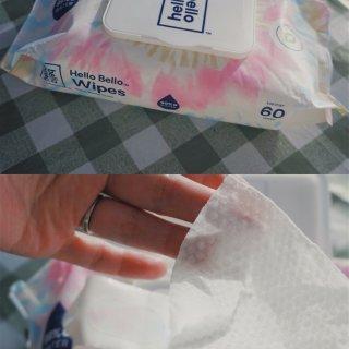 【Hello Bello】尿布湿巾全面测...