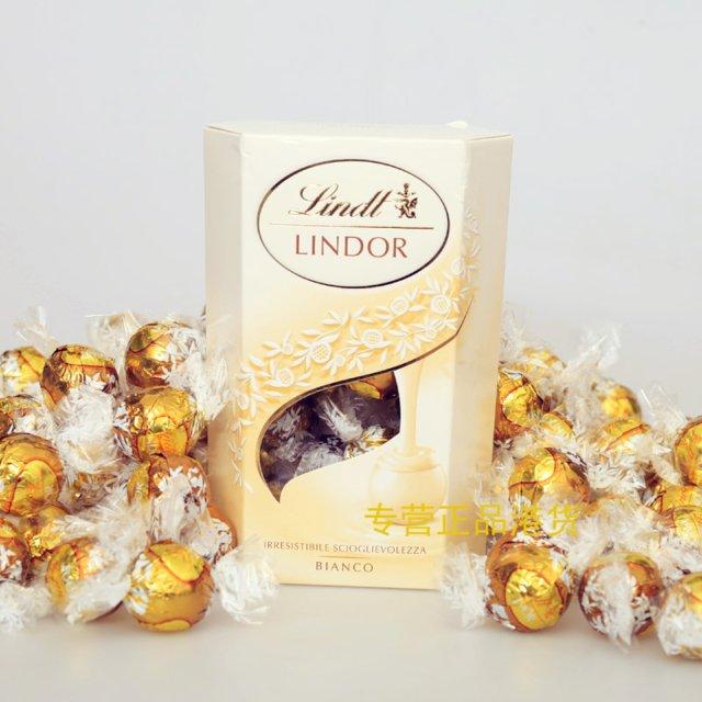 最喜欢的巧克力:Lindor
