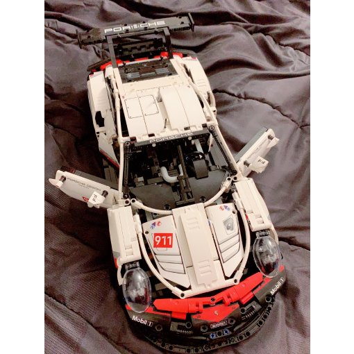 LEGO 2019最新款保时捷Porsche 911 RSR