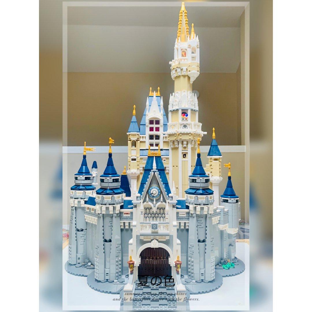 爱她,陪她一起拼搭|迪士尼城堡