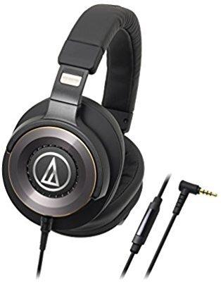 Audio-Technica 铁三角 ATH-WS1100iS 头戴重低音耳机,带线控