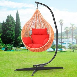Incroyable $79 Yaheetech Hammock C Stand Solid Steel Construction Hammock Air Porch  Swing Chair