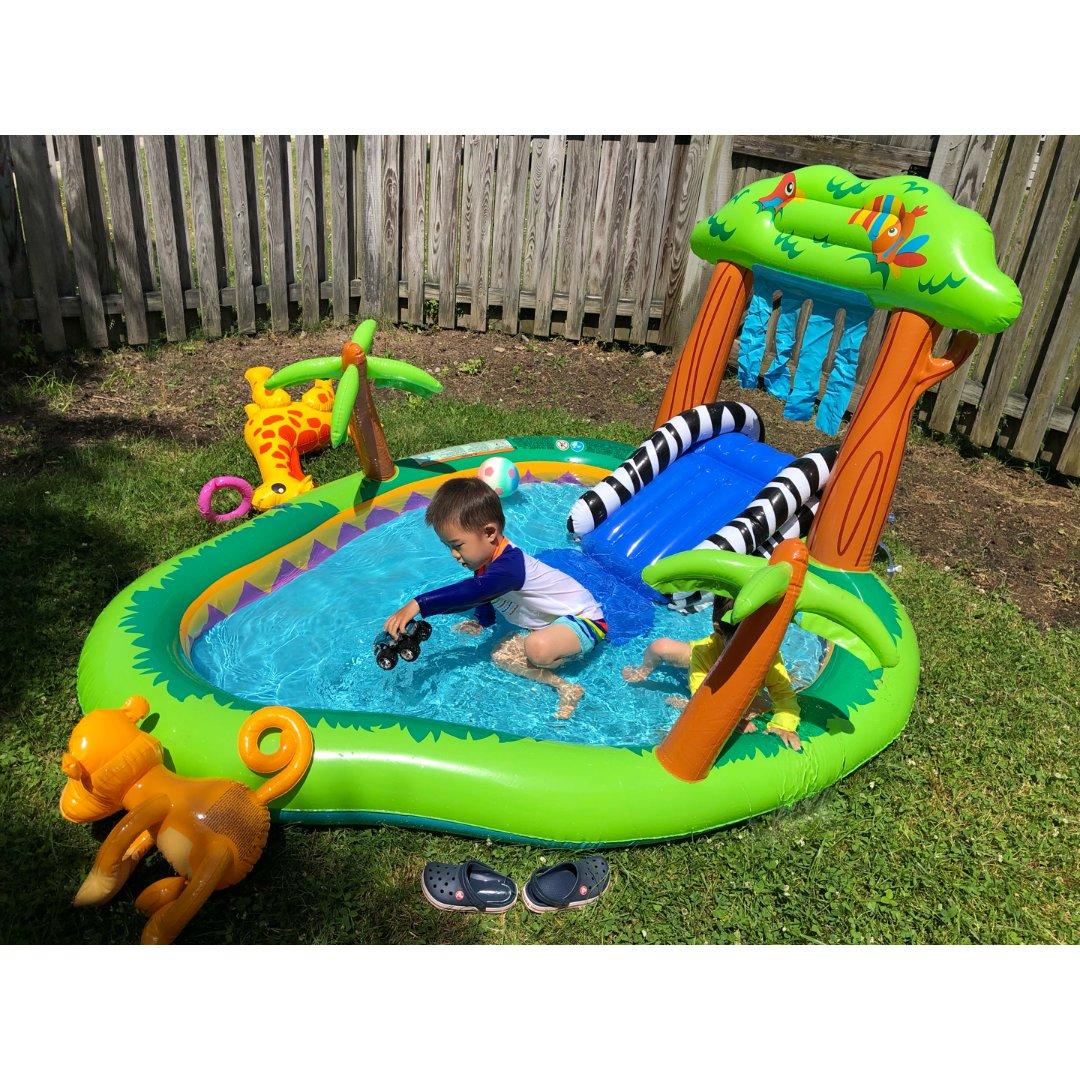 夏天就是要玩水啊
