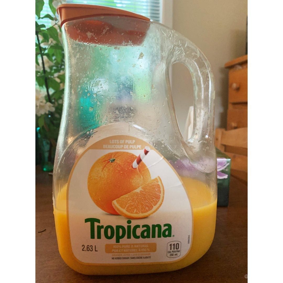 最喜欢的橘子汁/tropicana