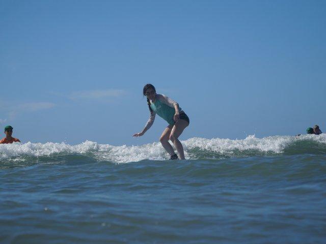 夏威夷冲浪初体验
