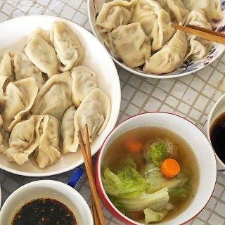 包饺子+自制提拉米苏🎉中西结合的年三十!...