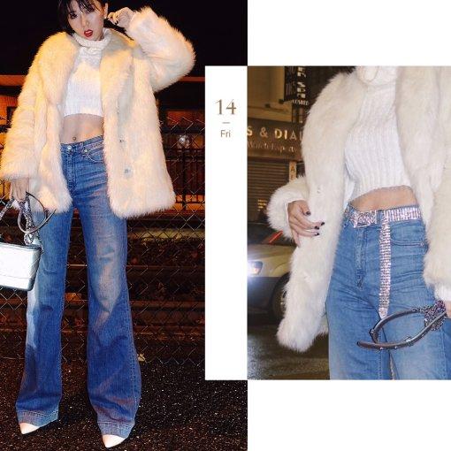 一只白熊精| Faux fur究竟是否保暖
