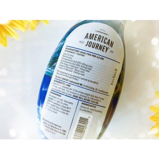 萌宠总动员打卡5⃣️,American Journey鱼油