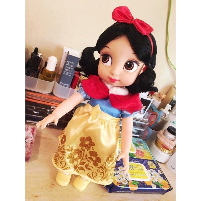 Disney家的这个白雪公主大娃娃...