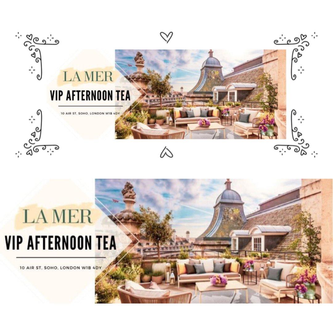 Lamer VIP afternoon tea