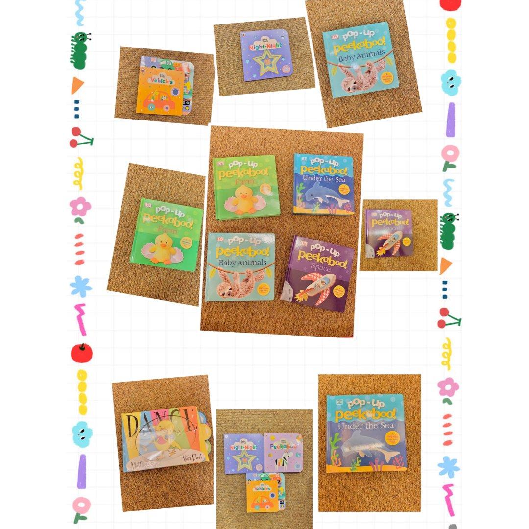 8本比玩具还好玩的认知启蒙绘本(2)...