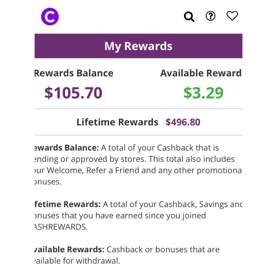 Cashrewards—剁手好伙伴