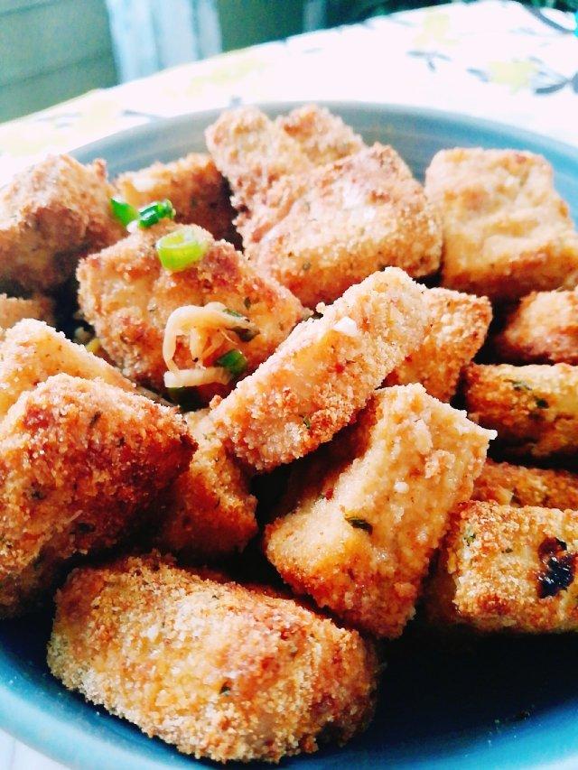 美味DIY/黄金豆腐🍱
