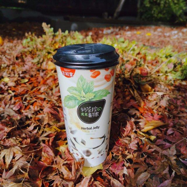 奶茶测评:生和堂草本原味龟苓饮